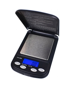 The On Balance Champion is a Pocket Scale that can weight up to 500 g with 0,01 g accuracy